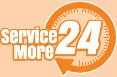 Service More 24 Retina Logo